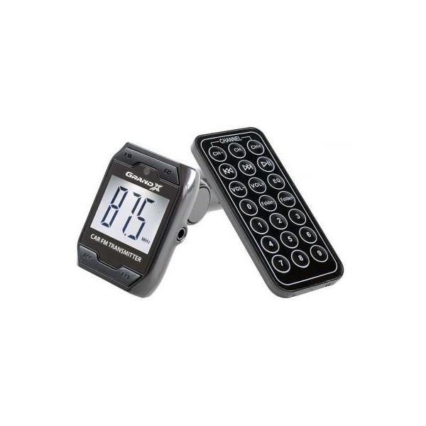 MP3 FM-модулятор Grand-X CUFM71GRX Black