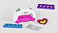 Дитячий набір для манікюру з лаками, лампа та аксесуари 95965, фото 2