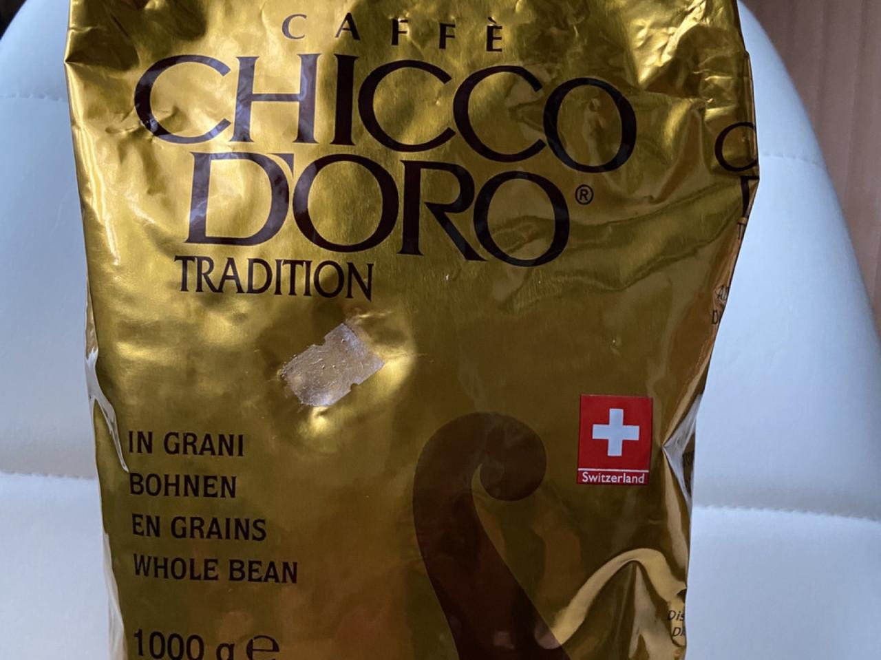 Кава в зернах Caffe CHICCO DORO Tradition