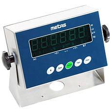 Ваги товарні Metas МП-500-1 B19S (600x800) 500 кг, фото 3