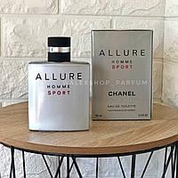 Духи Мужские Chanel Allure Homme Sport (Original Pack) 100 ml Шанель Алюр Хом Спорт (Оригинал Упаковка) 100 мл