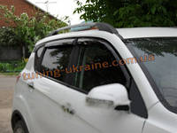 Ветровики с хром кантиком на Changan CS35 2012+