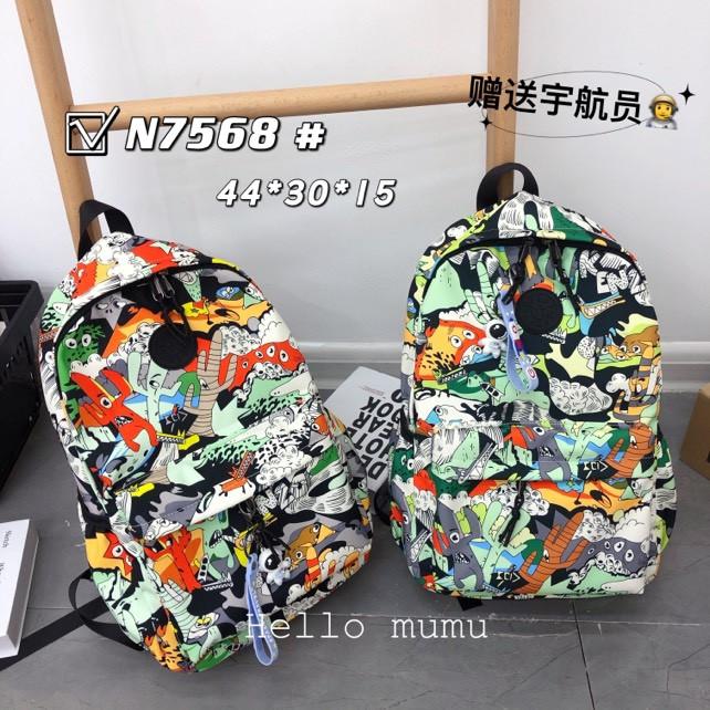 Рюкзак подростковый школьный городской стильный принт 44*30 см в разных цветах Mark