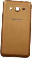 Задняя крышка для Samsung Galaxy Core 2, G355, Original, Золотистый /панель/корпус/накладка /самсунг галакси