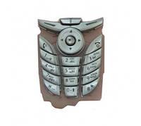 Клавиатура для Motorola C380, серебристая /Кнопки/Клавиши /моторола