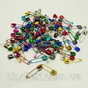 Безопасные булавки цветные 4 см - уп. 50 шт. (653-Т-0129)