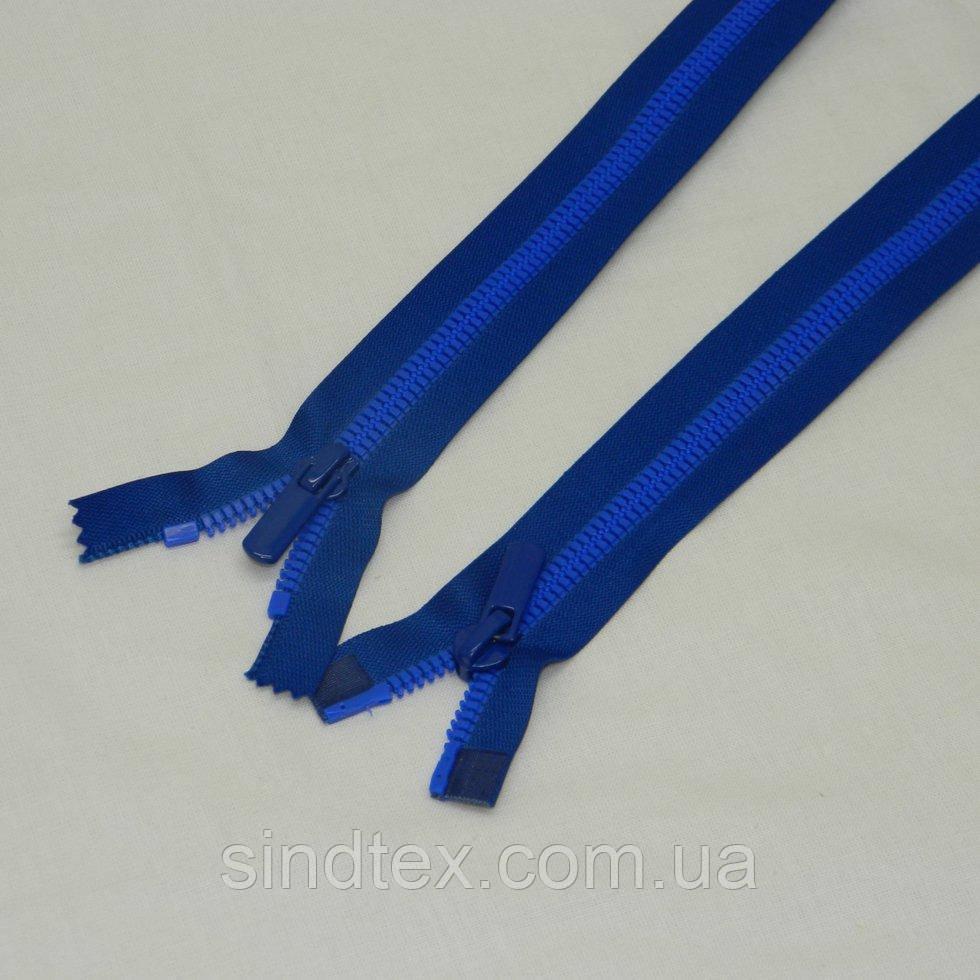 (синяя) Разъемная молния  Барышевка 80см (6-2426-В-129)