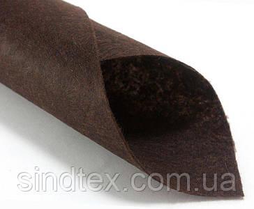 Фетр жесткий 1мм 20 х 25 см  Цена за 1 лист. Цвет - Коричневый (сп7нг-0134)