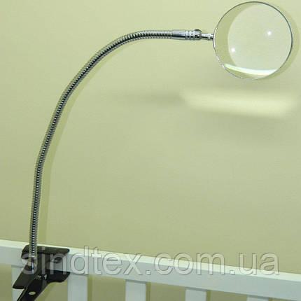 Увеличительная лупа настольная на подставке для вышивки (стекло) (657-Л-0051), фото 2