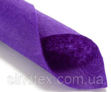 Для игрушек Фетр жесткий 1мм 20 х 25 см  Цена за 1 лист. Цвет - темно сиреневый (сп7нг-0138)