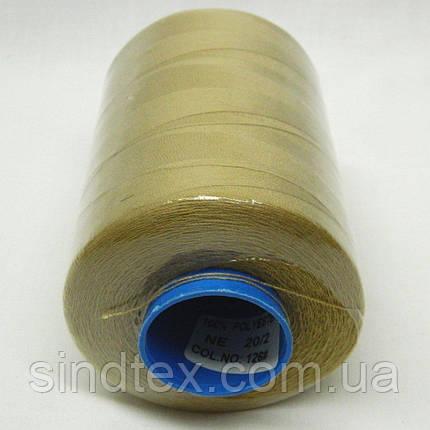 Армовані нитки Super 20/2 бежеві 4000 ярдів (6-2274-М-А126), фото 2