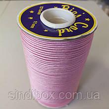 Лента кант для шитья атлас, цвет розовый (УМН-660-0008)