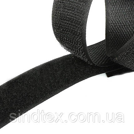 На мераж Липучка черная 4см (особо прочная) (657-Л-0558), фото 2