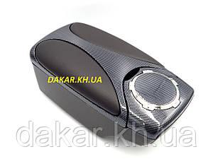 Підлокітник автомобільний універсальний Carbon Black
