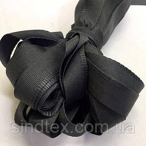 Тесьма брючная (1,5см.) моток 25м. цвет: темно-серый (6-2426-В-125)