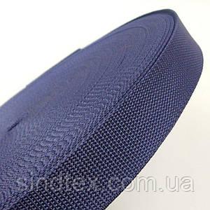Тесьма сумочная-ременная Sindtex 3см синяя (СИНДТЕКС-0852)