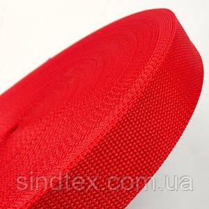 Тесьма сумочная-ременная Sindtex 3см красная (СИНДТЕКС-0854)