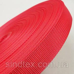 Тасьма сумочная-ремінна Sindtex 3см рожева (СИНДТЕКС-0858)