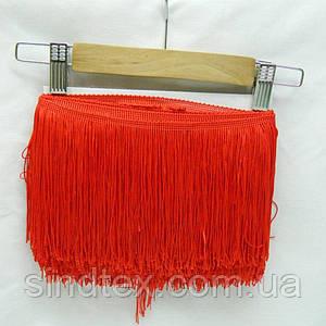 Бахрома для бальних суконь 15см х 9м -04 (червоний) (653-Т-0395)