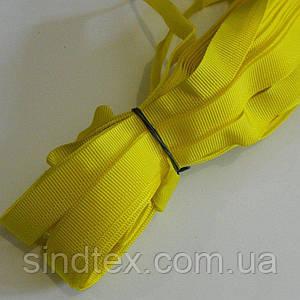 Брючная тесьма 25м (Белорусь) в ассортименте жёлтый (657-Л-0571)