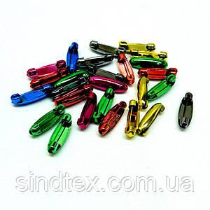 Безопасные булавки цветные 3 см - уп. 50 шт. (653-Т-0128)