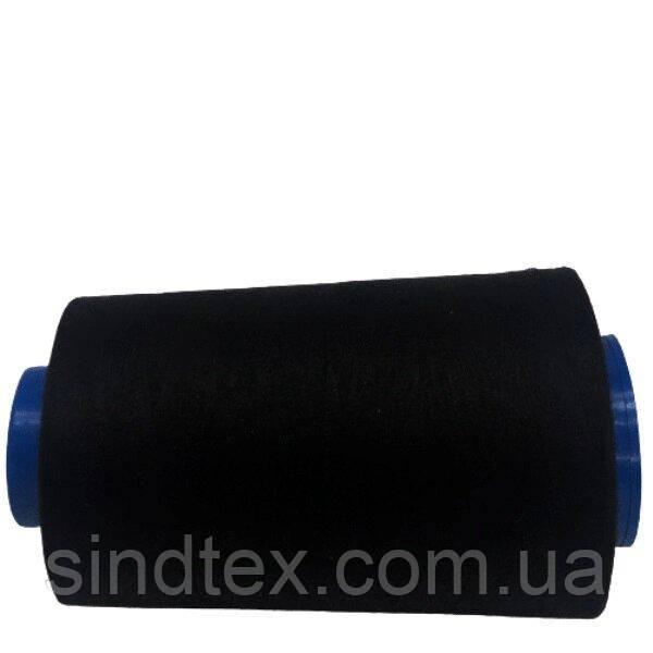 Нитки Super швейні чорні 40/2 4000ярдов (6-2274-М-B)