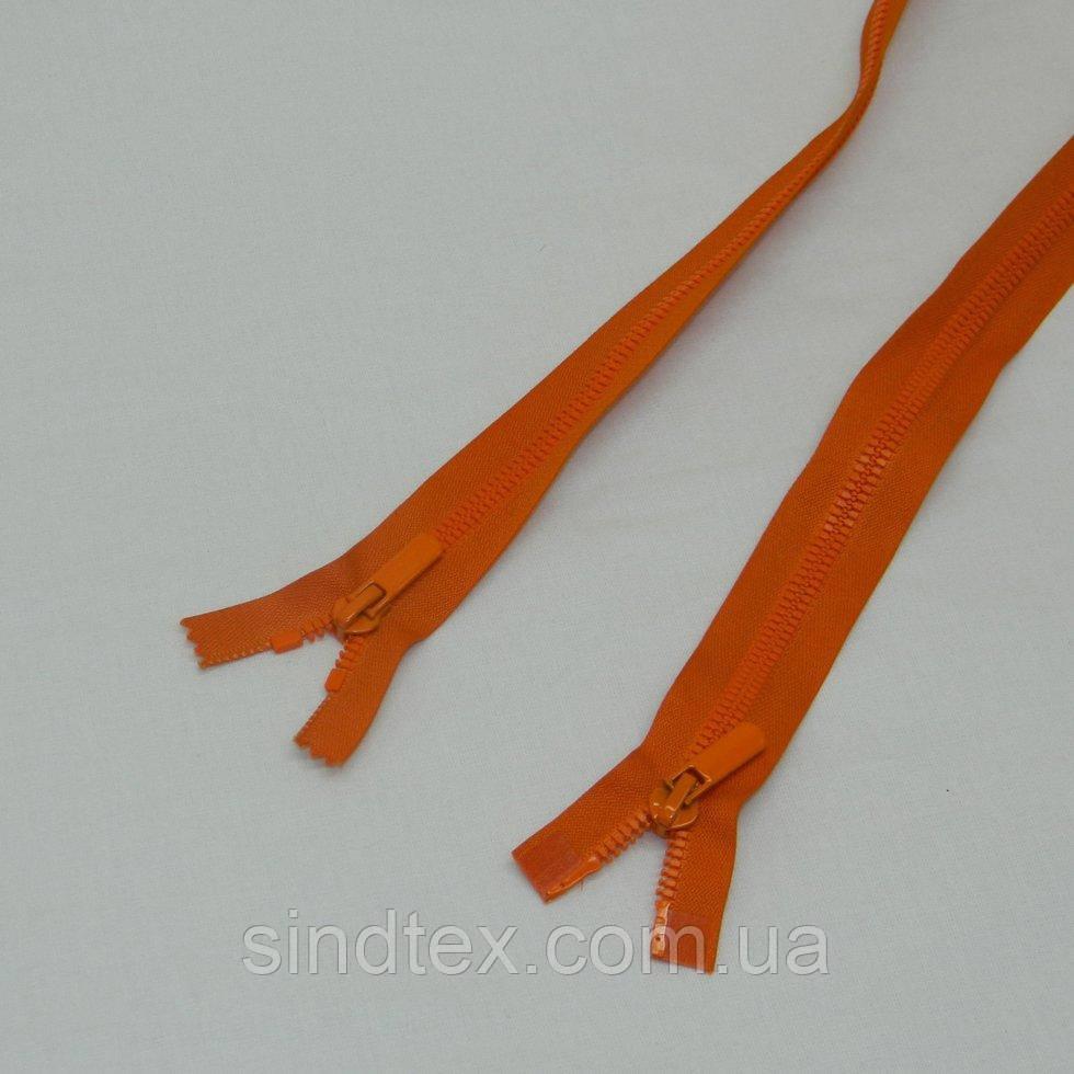 (оранжевая) Разъемная молния Барышевка 100см (6-2426-В-149)