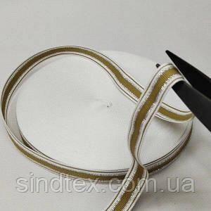 Лампасная репсова стрічка (тасьма) 2см. на відріз кратно 1 м. - (6-БЛ-0062)