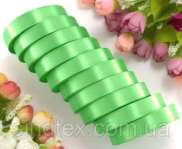 """(10шт) Атласна стрічка 1,2 см 22-23метра """"LiaM"""", колір - весняний (сп7нг-5212)"""