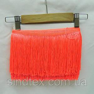 Бахрома для бальних суконь 15см х 9м -05 (помаранчевий) (653-Т-0400)