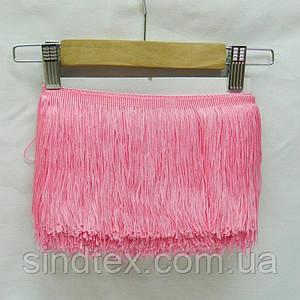 Бахрома для бальних суконь 15см х 9м -07 (рожевий) (653-Т-0402)