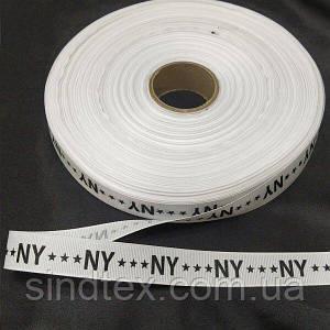 Лампасна репсова стрічка (тасьма) 2см. на відріз кратно 1 м. - (6-БЛ-0036)