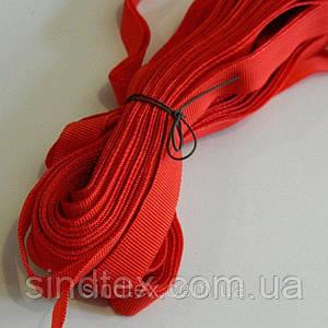 Брючная тесьма 25м (Белорусь) в ассортименте красный (657-Л-0573)