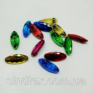 Безопасные булавки цветные 3,5 см - уп. 50 шт. (653-Т-0127)