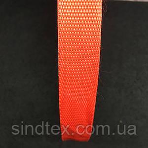 Стропа, колір червоний, ширина 2 см, довжина 50 ярд. (653-Т-0011)