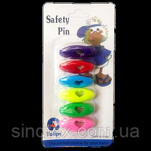 Безопасные булавки для постельного белья, уп. 6шт. (657-Л-0177)