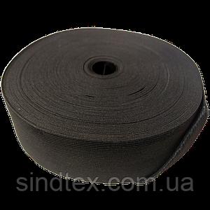 Широкая бельевая резинка для одежды Sindtex черная 5 см х 22,5 м (СИНДТЕКС-0071)