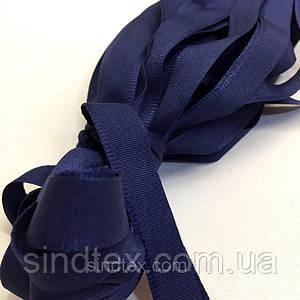 Тесьма брючная (1,5см.) моток 25м. цвет: синий (6-2426-В-121)
