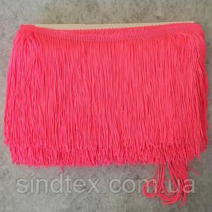 Бахрома для бальних суконь 15см х 9м -16 (яскраво-рожевий) (653-Т-0403)