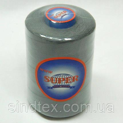 Армированные нитки Super 20/2 серые 4000 ярдов (6-2274-М-А203), фото 2