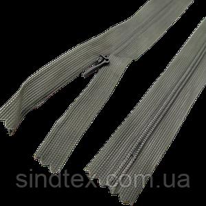 №557 сіра блискавка потайна, 50 см (6-2426-В-181)
