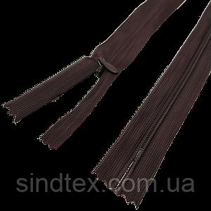 №570 коричневая молния потайная, 50 см (6-2426-В-182)