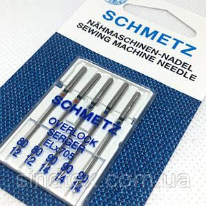 Голки для оверлока Schmetz (80-90) (шметс-14)