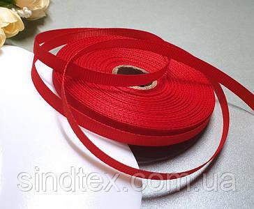РЕПСОВА стрічка 0,6 см 23 метри, стрічка репс червоний (сп7нг-5766)