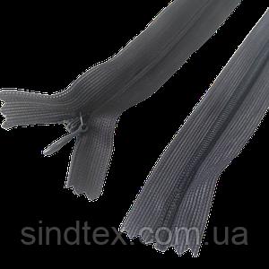 №301 сіра блискавка потайна, 50 см (6-2426-В-187)