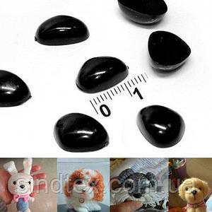 (10 грамм) Пластиковые БОЛЬШИЕ носики для игрушек 14мм х 10мм (примерно - 26шт) (сп7нг-5757)