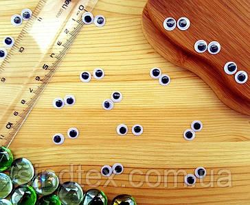 (10 грамм,Ø8мм) Подвижные глазки для игрушек Ø8мм (сп7нг-5785)
