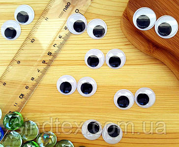 (10грамм, Ø20мм) Подвижные глазки для игрушек Ø20мм (42-46 глазок) (сп7нг-5794)