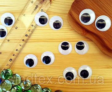 (10грамм, Ø25мм) Подвижные глазки для игрушек Ø25мм (26-30 глазок) (сп7нг-5786)