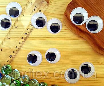 (10грамм, Ø30мм) Подвижные глазки для игрушек Ø30мм (14-16 глазок) (сп7нг-5787)